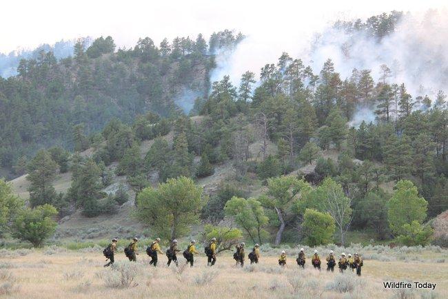 Wyoming Hot Shots, White Draw Fire