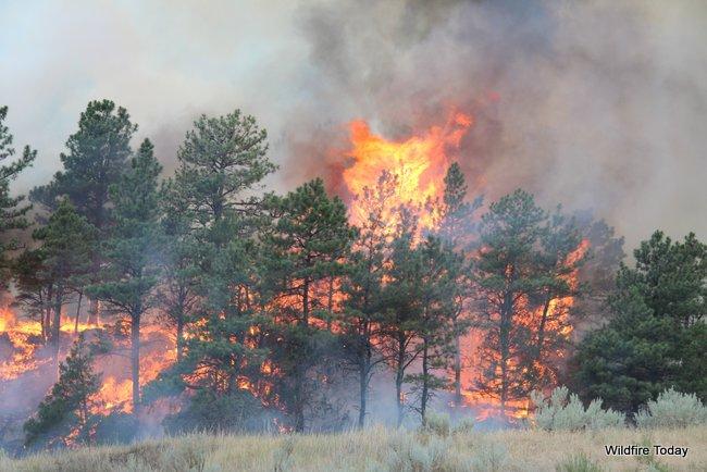 White Draw Fire, July 2, 2012.