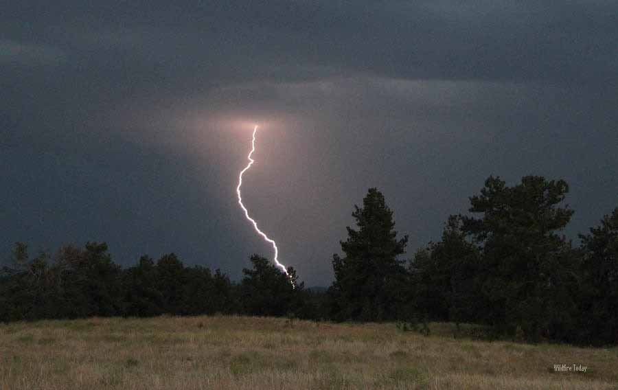 Lightning at Wind Cave National Park