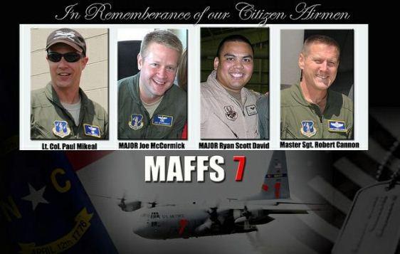 MAFFS 7 crew