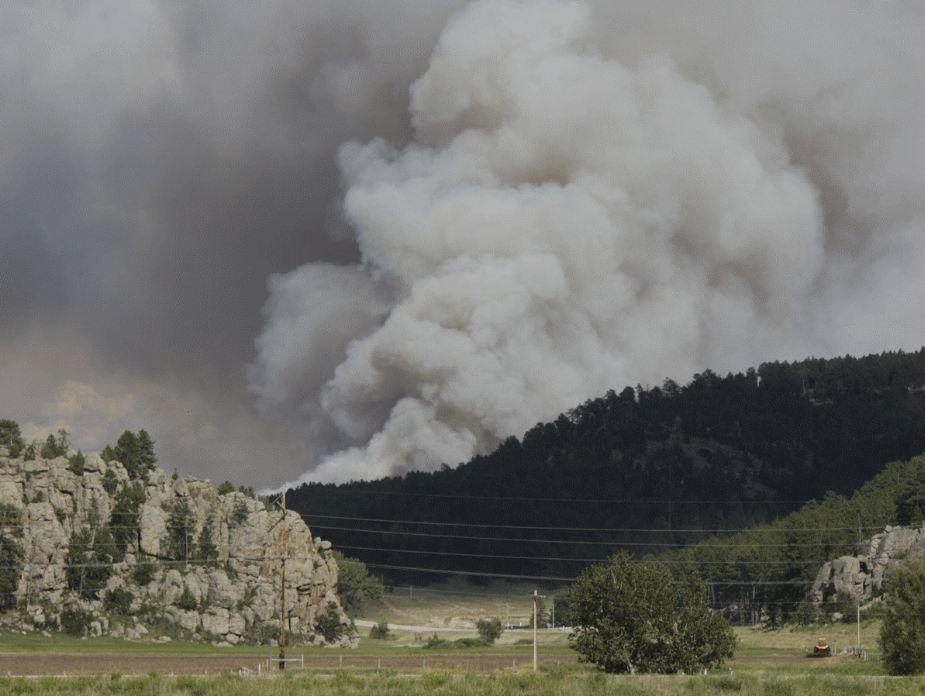 Myrtle fire, July 19, 2012
