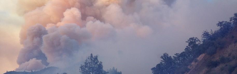 California: Photos of the Sites fire