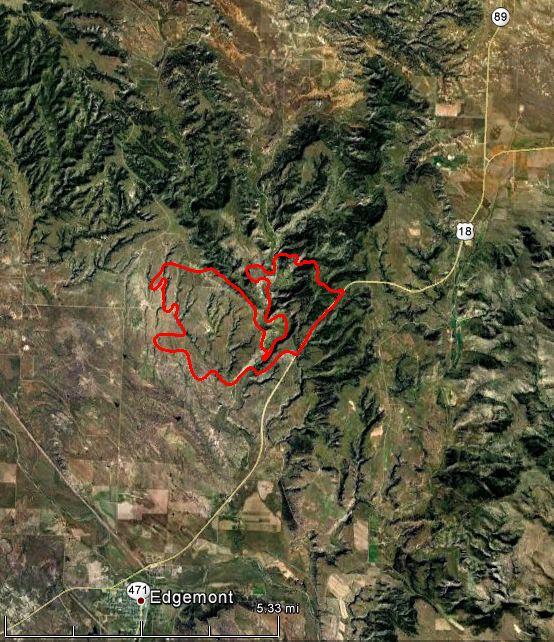 White Draw fire, 10:51 p.m. MT, June 30, 2012