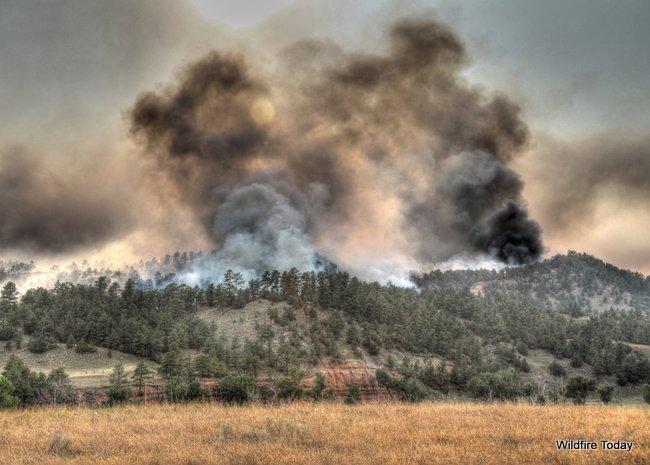 White Draw fire, south dakota,