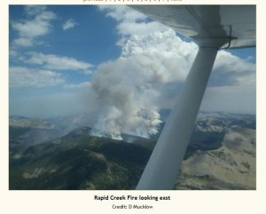Rapid Creek Fire