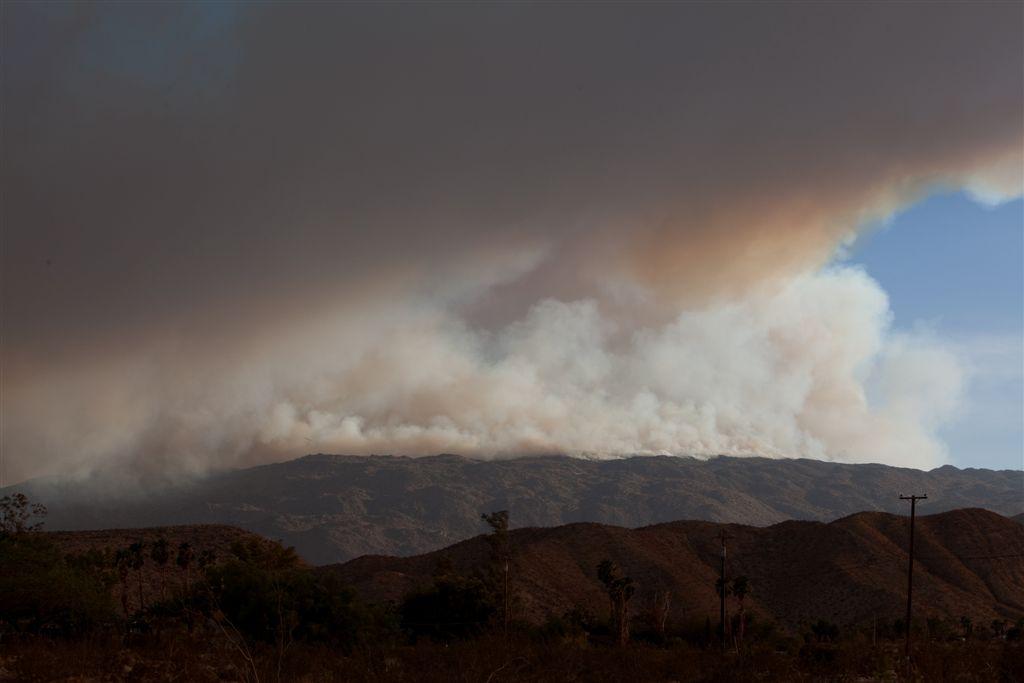 Vallecito Fire, Aug 13  6:07 PM