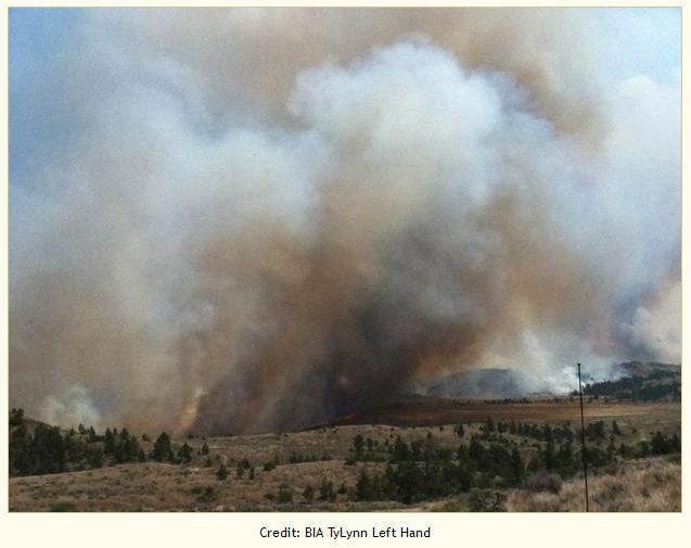 East Sarpy Fire at noon 08/01/2012