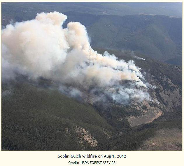 Goblin Gulch Fire