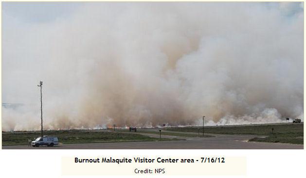 McFaddin National Wildlife Refuge burnout