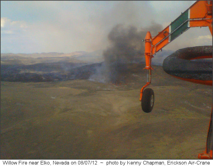 Willow Fire on 08/07/12
