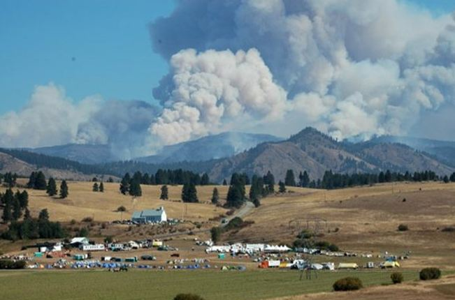 Central Washington Fire,