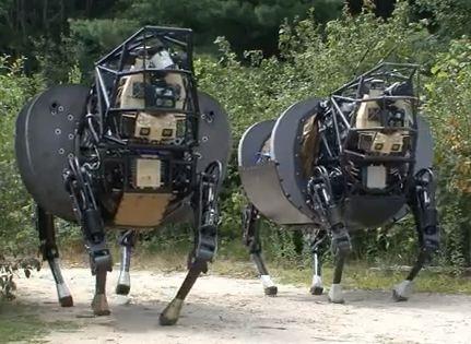 DARPA's legged robots