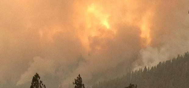 Incident Management Team using iPads on Sawtooth Fire