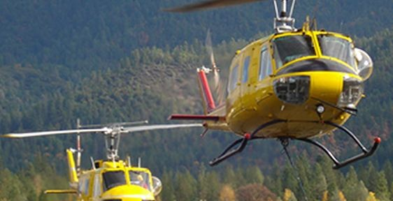 Pilot walks away from helicopter crash in Oregon