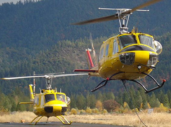 Columbia Basin UH-1H Helicopters