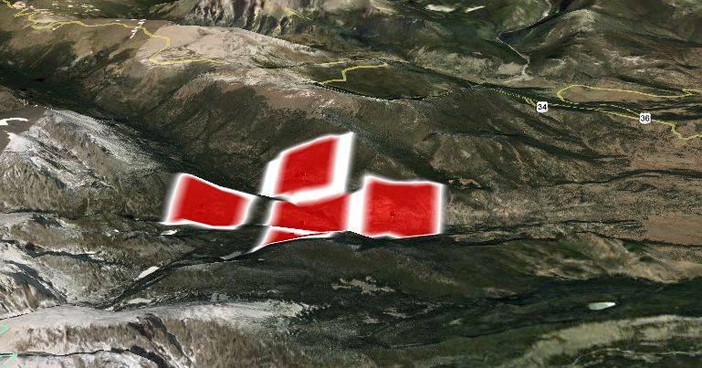 Map Fren Lake Fire