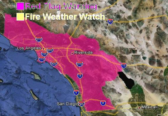 Red Flag Warnings, 8:26 a.m. PT, October 27, 2012