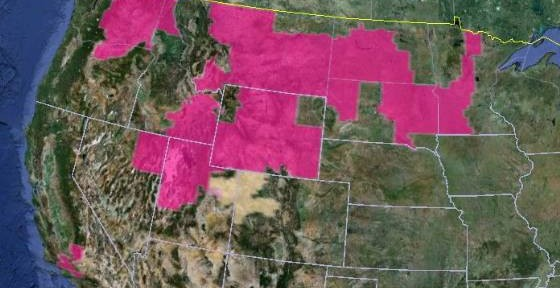 Wildfire Red Flag Warnings, October 2, 2012