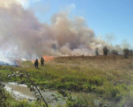 USFWS Prescribed fire