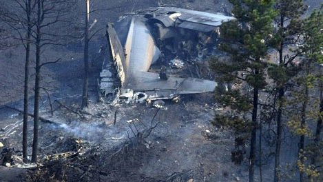 C-130 MAFFS crash, July 1, 2012
