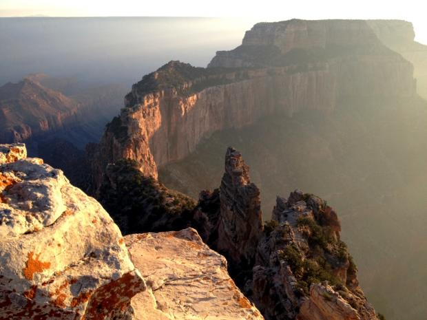 Cape Royal at sunset., NPS photo by Jessica Pope