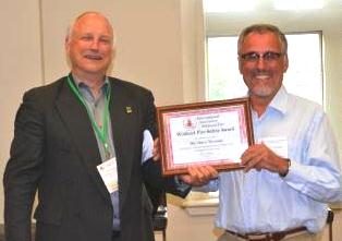 Dave Thomas receives IAWF Safety Award