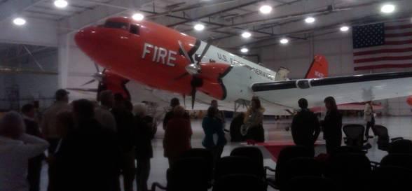 McCall DC-3 retirement