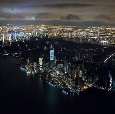 NYC partially blacked out