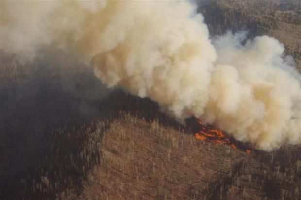 Vallecito Fire, Photo by Charlie Armiger