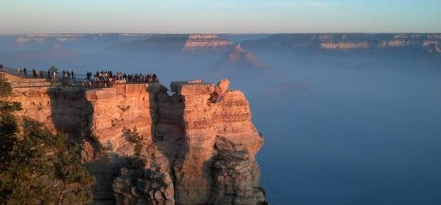 """Prescribed fire smoke adds """"texture"""" to views of the Grand Canyon"""
