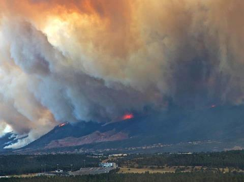 Waldo Canyon Fire, June 26, 2012