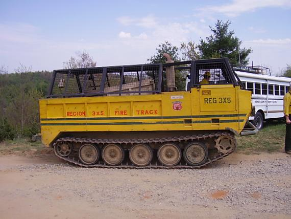 Converted personnel carrier, North Carolina