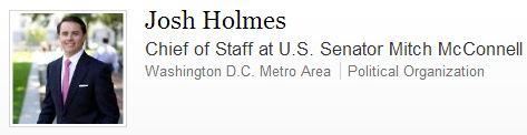 Josh Holmes LinkedIn