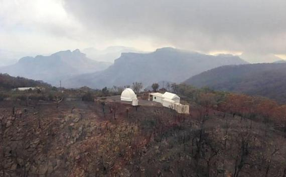 Siding Spring Observatory, post fire