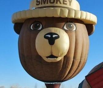 Smokey Bear hot air balloon