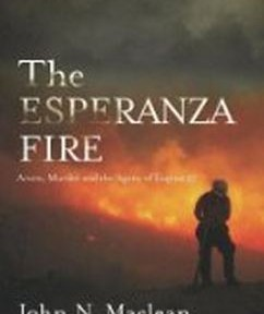 The Esperanza Fire, book cover