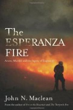 The Esperanza Fire, book cover