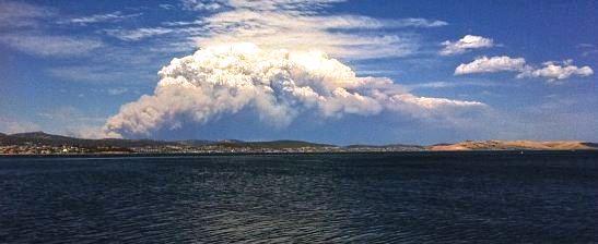 Smoke fires Tasmania