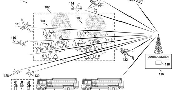 Boeing files patent applications for wildfire management system