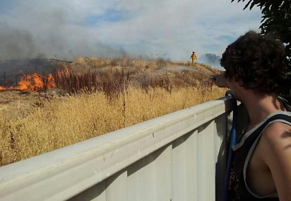 FireReady photo 2 Shepparton bushfire