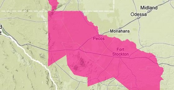 Red flag warnings for portions of New Mexico, Texas, and Florida