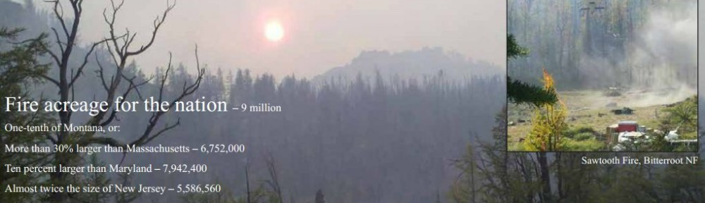 USFS R1 2012 fire season review