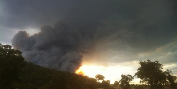 Australia: photos of a fire in the Grampians