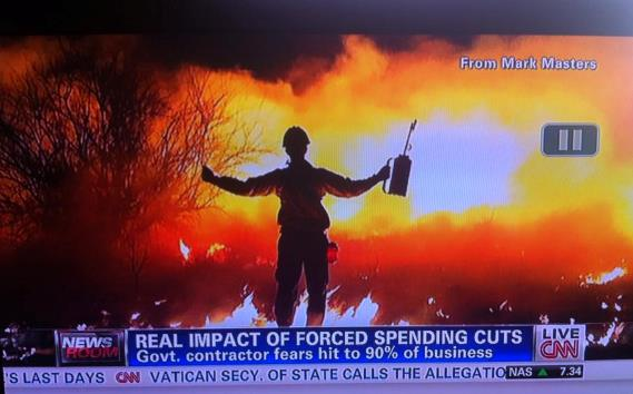 Choleta Fire on CNN