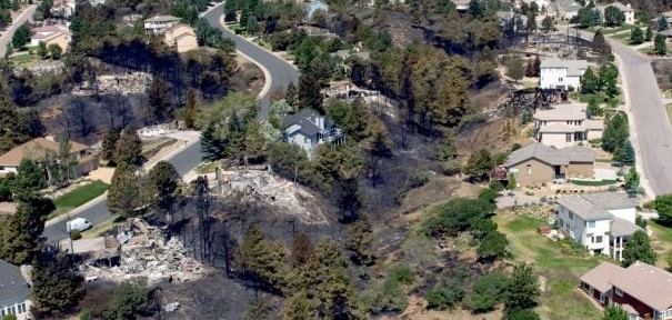 Lessons learned about survival of structures during Waldo Canyon Fire