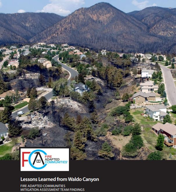 Lessons Learned from Waldo Canyon Fire