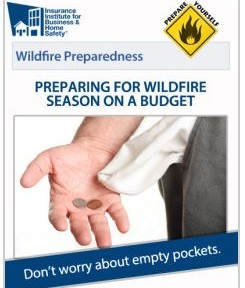 Home wildfire preparedness on a budget