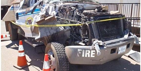 Report on fatal engine rollover on Montezuma Fire