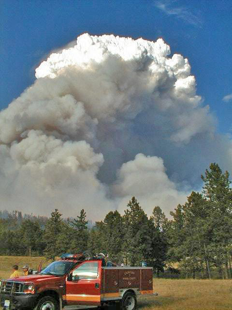 Jasper Fire south dakota