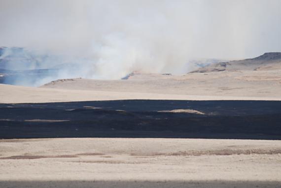 Pautre Fire. US Forest Service photo.